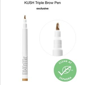 NWT Sephora Milk KUSH Triple Brow Pen